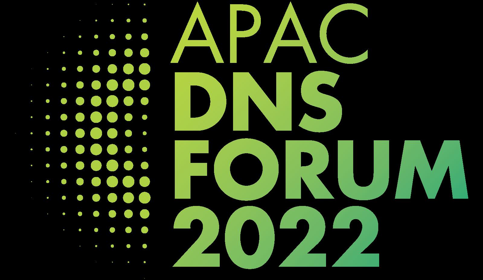 APAC DNS FORUM 2022